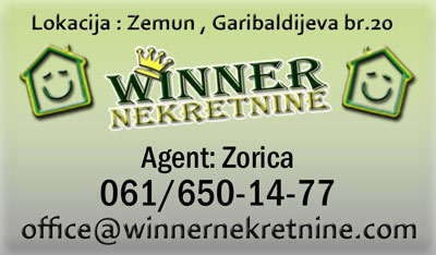 Prodaja stan Sava Kovacevic agencija za promet nekretnina