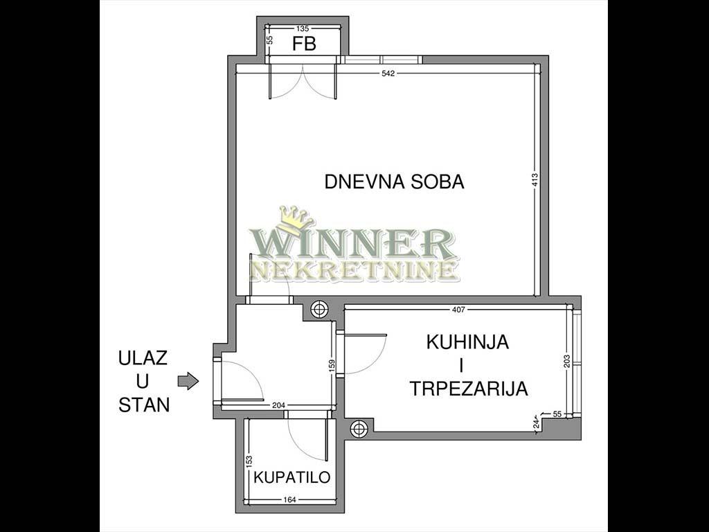Stan Beograd Stari Grad Centar majke jevrosime agencija promet nekretnine winner uknjizen useljiv stara gradnja jednosoban