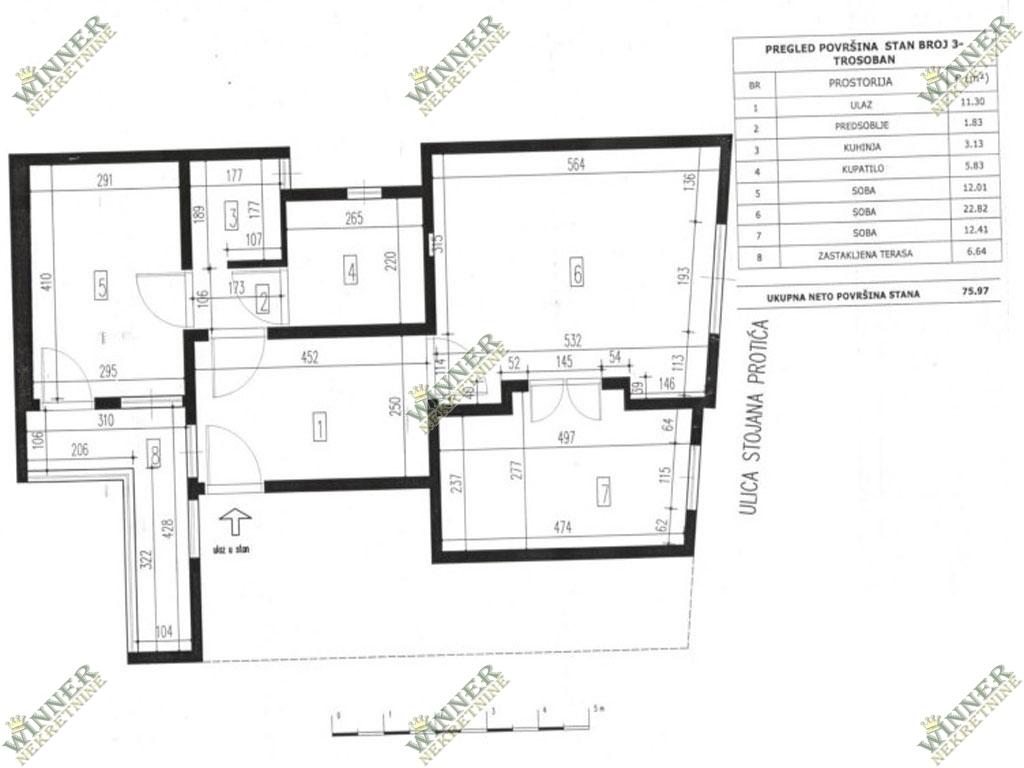 . Prodaja Stan Vracar, Hram sv. Save, salonac, centralno grejanje, uknjizen, u izvornom stanju, agencija za promet nekretnina