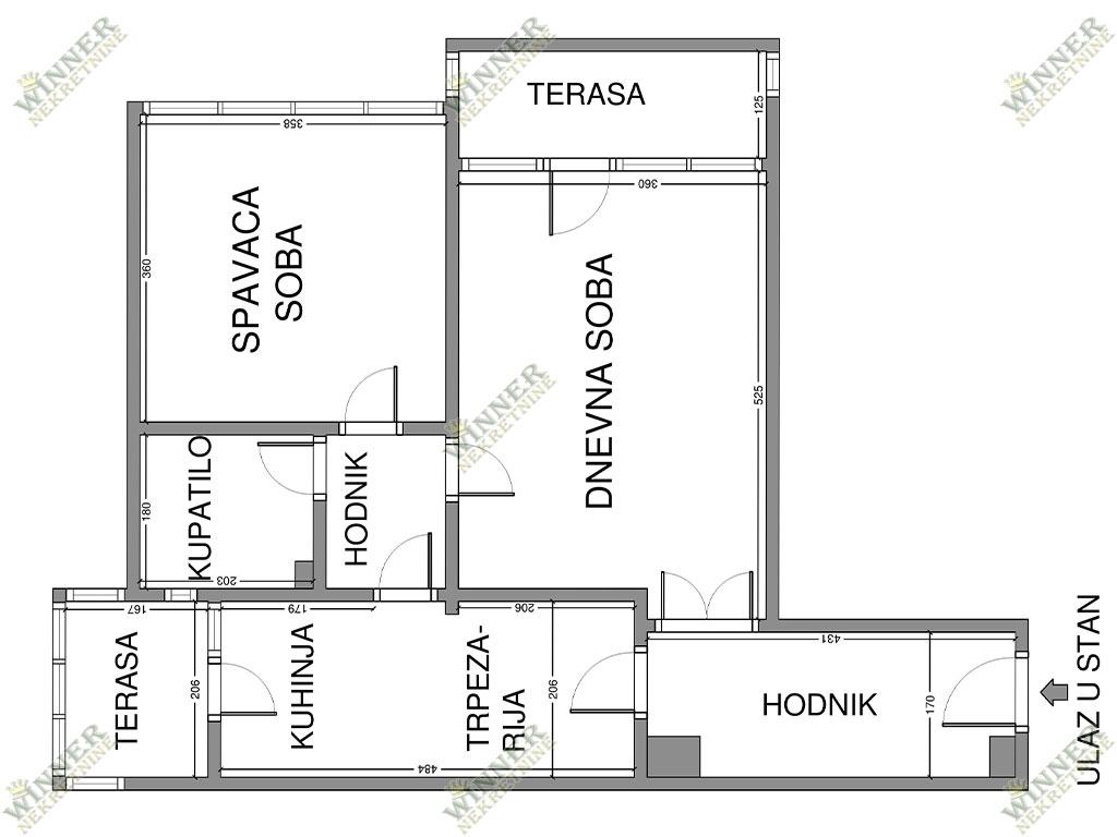Prodaja Dvosoban Stan Zemun, naselje Sava Kovacevic, Centralno grejanje, uknjizeno, useljivo, izvorno stanje, stara gradnja, terasa, pordum, Agencija, w