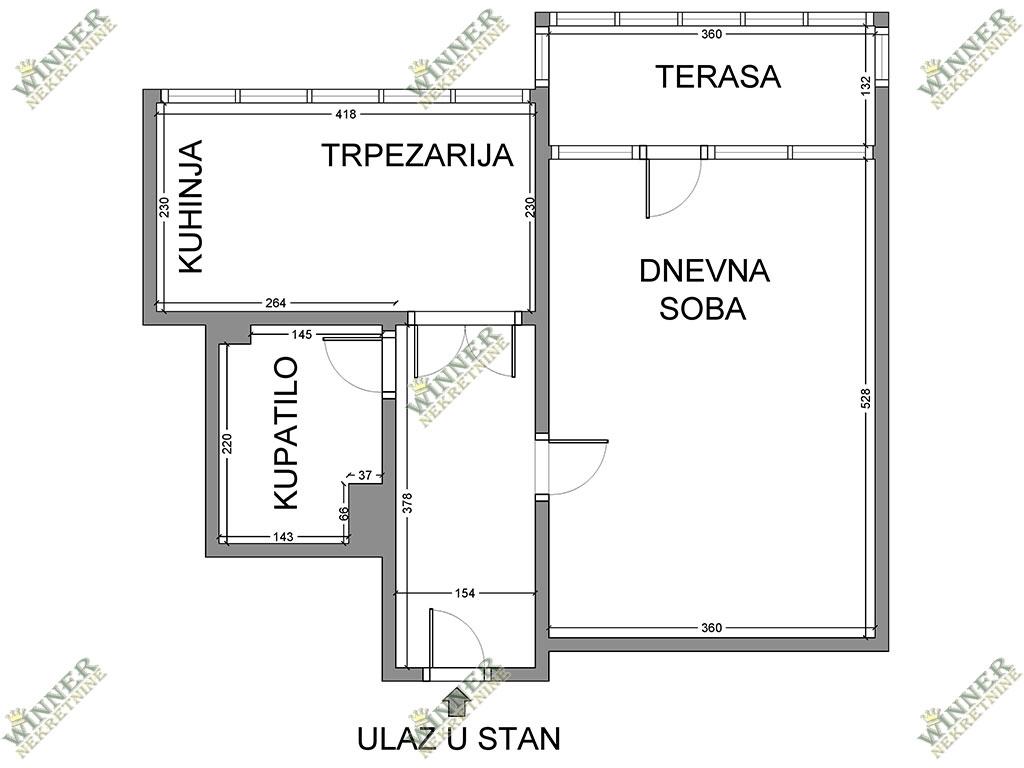 Prodaja jednosoban uknjizen stan Zemun, Sava Kovacevic, naselje, centralno grejanje, ponuda, agencija promet nekretnina, winner nekretnine, provizija