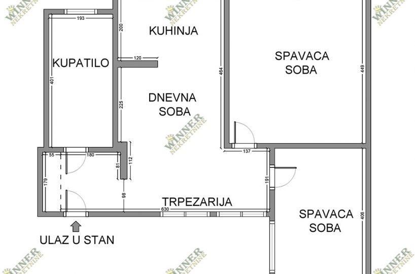 Prodaja Stan Renoviran Prvomajska, Sava Kovacevic, Nekretnina, stanvi, uknjizeno, renovirano, dvosoban, agencija, promet, winner nekre