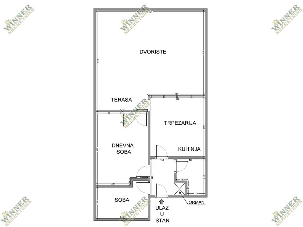 Prodaja Stan Blok 45, Novi Beograd, Dr. Ivana Ribara, uknjizen, dvosoban, sa velikom terasom, podrum, parking, setaliste,