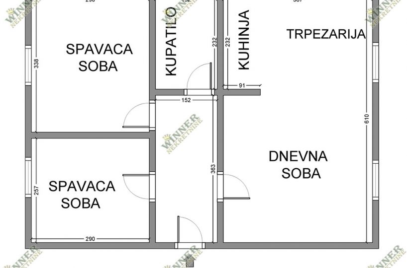 Prodaja Stan Novogradnja dvoiposoban, Zemun, naselje Sava Kovacevic, ulica Dragana Rakica, uknjizeno, winner nekretnine, agencija promet